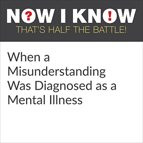 When a Misunderstanding Was Diagnosed as a Mental Illness audiobook cover art
