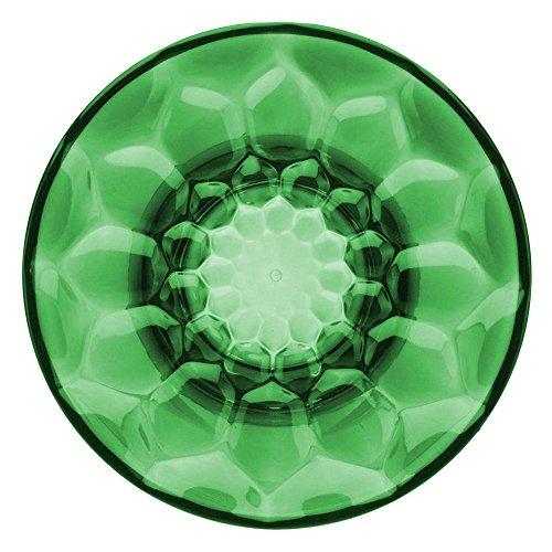 Kartell Jellies–Perchero en Forma de botón, plástico, Grã ¼ n, 13x 13x 6cm