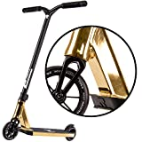 ROOT INDUSTRIES Type R Complete Pro Scooter - Pro Scooters - Pro Scooters for Adults/Pro Scooters for Kids - Quality Scooter Deck, Pro Scooter Wheels, Pro Scooter Bars - Awesome Colors (Gold Rush)