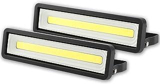 comprar comparacion Lote de 2 Focos LED exteriores 50W 4000LM, Potente LED para exteriores IP66, Luz de seguridad blanca fría 5000K para terra...
