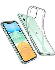 "ESR Funda Transparente para iPhone 11, Carcasa Protectora Transparente de iPhone XI con Suave TPU, Funda Delgada de Suave Silicona para iPhone 11 6,1"" (2019), Transparente Serie Essential Zero"