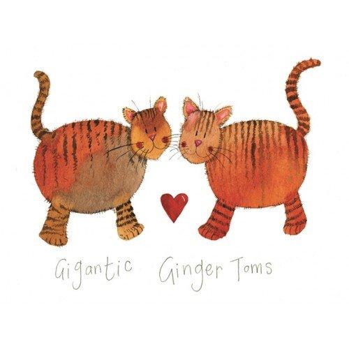 Felpudo Gigantic Ginger Toms de Alex Clark