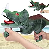 XLNB Pistola de Agua Dinosaurio para niños, Juguetes de Squirt Blasters, Agua Soaker Blaster Toys Dinosaur Regalo para Boys Girls Children, Piscina de Verano Juegos de Playa afuera