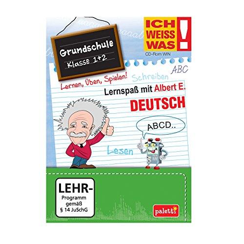 Albert E. ICH WEISS WAS! Lernspaß Grundschule Deutsch Klasse 1 + 2 CD ROM