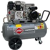 BRSF33 Impresión Compresor De Aire HL 425–90(2,2kW, Max. 10bar, 90litros caldera) Conector de alimentación 230V