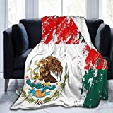 Ultra-Soft Micro Fleece Blanket Eagle Of The Mexican Flag Throw Blanket Warm Blanket Throw Blanket Ultra Soft Thick Bed Blanket For Couch Travel Chair - All Season Premium Bed Blanket (80 X 60 Inches)