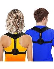 Posture Corrector for Women & Men - Posture Brace - Comfortable Back Brace Posture Corrector for Spinal Alignment & Posture Support - Adjustable Back Straightener - Posture Fixer - Slouching Brace