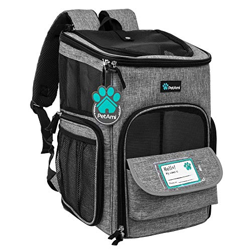 PetAmi Pet Carrier Backpack for Small Cats, Dogs, Puppies | Airline...