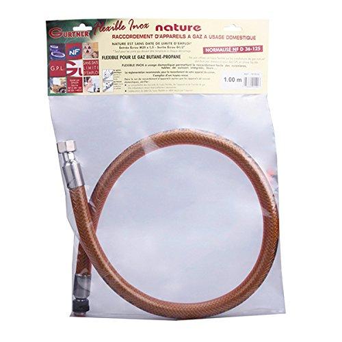 Gurtner - Flexible Butane - Flexible NF INOX garantie à vie Butane / Propane 0.50ml