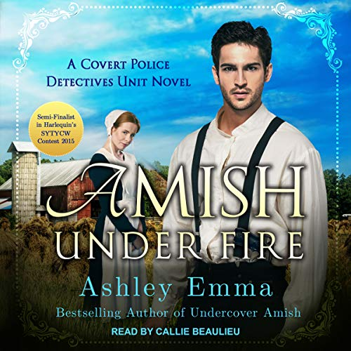 Amish Under Fire     Covert Police Detectives Unit, Book 2              By:                                                                                                                                 Ashley Emma                               Narrated by:                                                                                                                                 Callie Beaulieu                      Length: 6 hrs and 57 mins     7 ratings     Overall 4.7