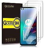 QULLOO Protector de Pantalla Motorola Moto G100 / Moto G 5G Plus, Cristal Templado [9H Dureza][Alta Definición][Fácil de Instalar] para Moto G100 / Moto G 5G Plus - 3 Piezas