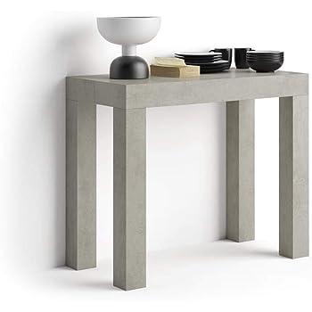 Table console extensible, mesures et marques