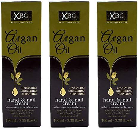 XBC Argan Oil Hand & Nail Cream 100ml – Choose Quantity (1x100ml)