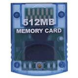 RGEEK 512MB High Speed Game Memory Card Compatible for Wii Gamecube