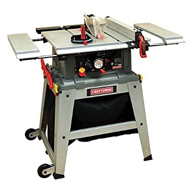 Craftsman 10  Table Saw with Laser Trac 21807