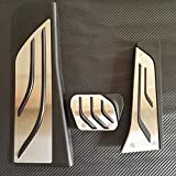 SBCX Accesorios, BMW New X3 X4,5 6 7 Series Touring AT Pastillas del Pedal del reposapiés del Freno del Acelerador, calcomanías de reacondicionamiento de Gas