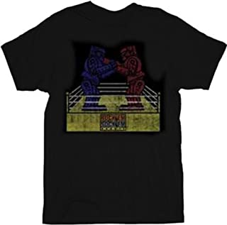 Rock 'Em Sock 'Em Robots Sheldon Adult T-Shirt Tee