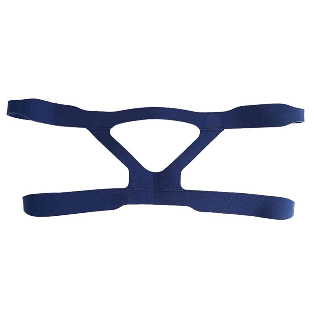 前置詞別のホットNOTE ユニバーサルマスクヘッドギア交換4ポイントヘッドバンド医療人工呼吸器鼻マスクヘッドバンド用睡眠時無呼吸いびきCPAP機
