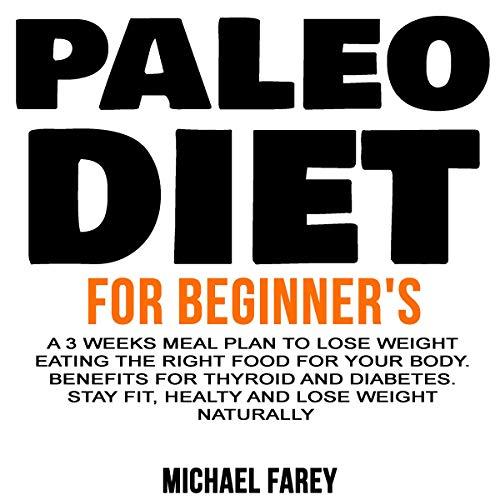 Paleo Diet for Beginner's audiobook cover art