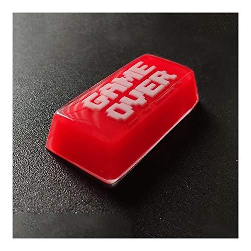 Teclas del Teclado Retroceso tecla Clave Blanco Clave de Red Cap for...
