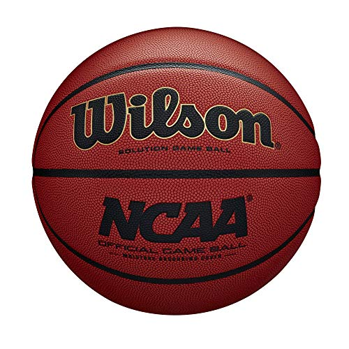 """Wilson Sporting Goods NCAA Official Game Basketball, Official - 29.5"""",Orange,WTB0700R"""