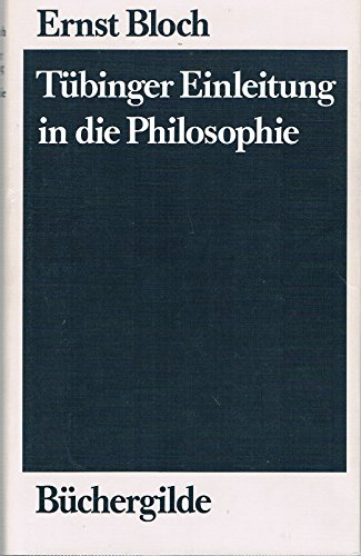 Tübinger Einleitung in die Philosophie.