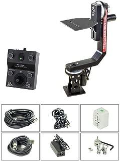 PROAIM Professional Motorized Sr. Pan Tilt Head with 12V Joystick Control for DSLR Video Cameras Camcorders up to 7.5kg/16.5lbs for Jib Crane Tripod + Carrying Bag (PT-SR)