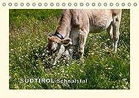 SUeDTIROL-Schnalstal (Tischkalender 2022 DIN A5 quer): Landschaft und Flora eines idyllischen Tals (Monatskalender, 14 Seiten )