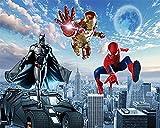 Murales Decoración De Paredes Papel Tapiz Autoadhesivo 3D Mural Naruto Spiderman Superhéroe...