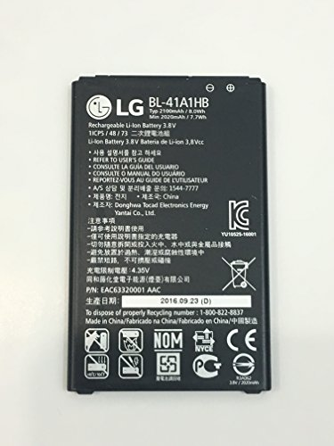 OEM LG Tribute HD Boost Mobile LS676 Original Battery replacement BL41A1HB 2100mAh 3.8V (Bulk Packaging)