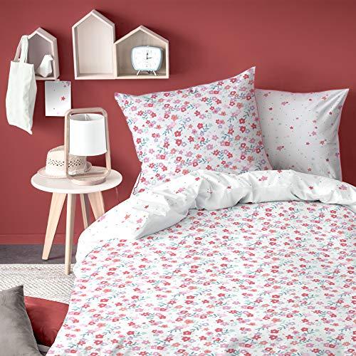 Matt & Rose Parures de lit, Rose, 140 x 200 cm