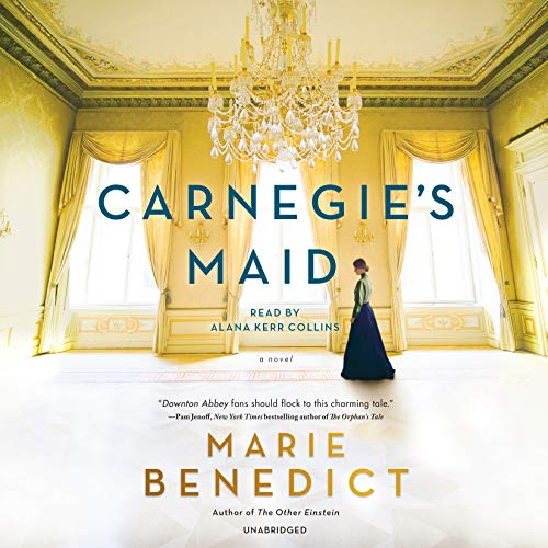 Carnegie's Maid audiobook cover art