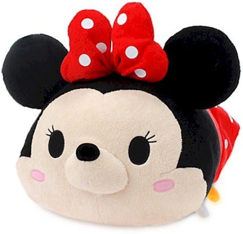 toma Disney  Tsum Tsum Tsum Tsum  - Minnie Mouse de peluche (felpa, tamaño grande, 43 cm)  descuento de ventas