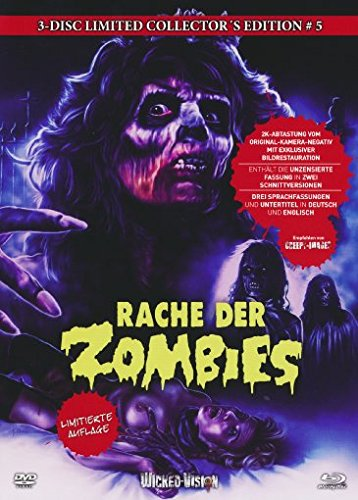 Rache der Zombies - 3-Disc Uncut Limited Collector's Edition No. 5 (Blu-ray & 2 DVDs, Limitiert auf 555 Stück, Cover C)