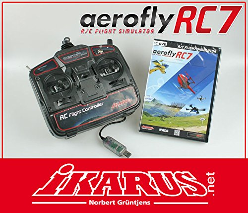 aerofly RC7 Ultimate DVD mit USB-Commander