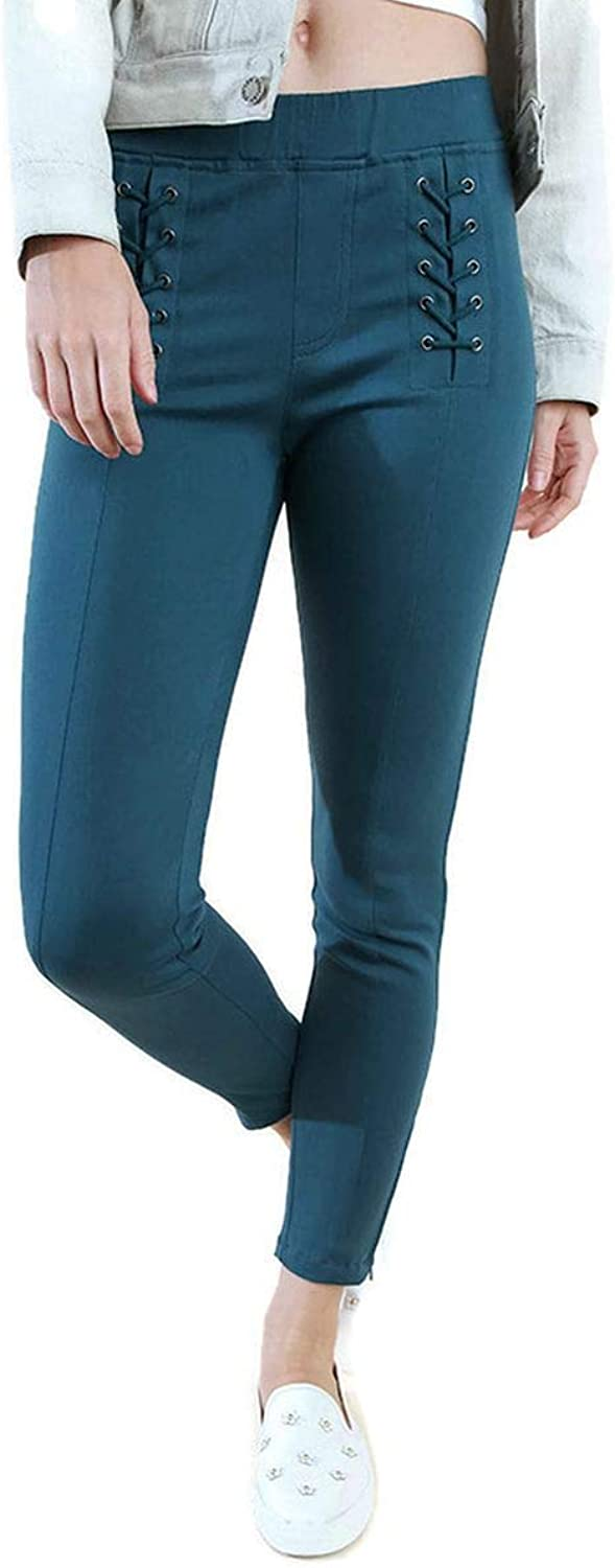Umgee USA Women's Lace Up Leggings