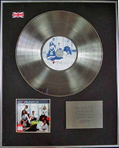 Century Music Awards No Angels CD Platinum Disc Limited Edition – Now.Us!