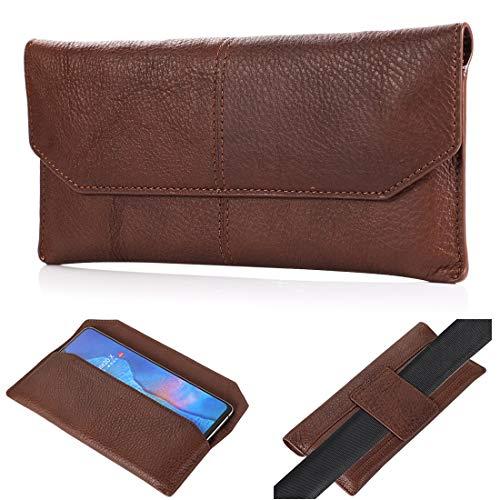 Clips para cinturón de teléfono para iPhone 12, 12 Pro Max, 11, 11 Pro Max, Xs Max, 8 Plus funda de cuero auténtico de primera calidad