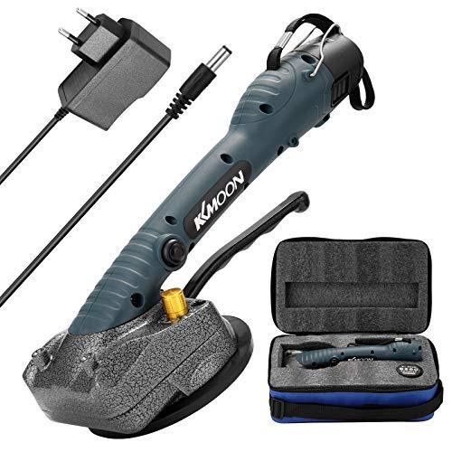 KKmoon - Baldosas de suelo de pared para máquina de baldosas 10-150 Hz, instalación herramienta vibradora con ventosa 100 x 100 mm,Necesita enganchar el gancho a la batería durante el uso
