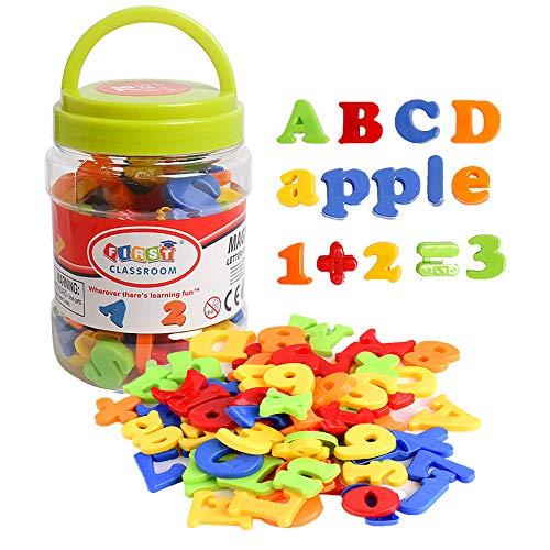 USATDD Magnetic Letters Numbers Alphabet Fridge Refrigerator Magnets...