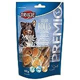 TRIXIE Snack PREMIO Sushi Rolls, 100 g, 90% Pescado Blanco, Perro