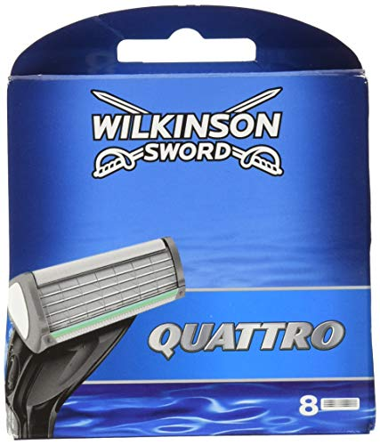 Wilkinson Sword Systemen Quattro 8Klingen