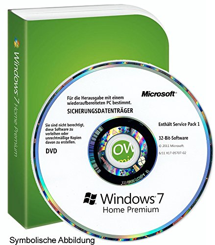 Windows 7 Home Premium 32Bit MAR (Refurbished) English DVD+COA