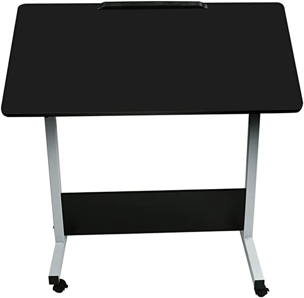 Ellymi Adjustable Height Standing Desk Adjustable Sit To Stand Up Desk Home Office Computer Table Portable Writing Study Table