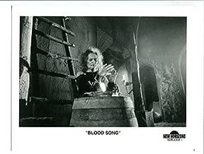 MOVIE PHOTO: BLOOD SONG-1982-8X10 PROMO STIL-DONNA WIKES-RICHARD JAECKEL-HORROR-THRILLER VF