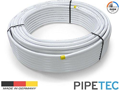 50m Pipetec Alu-Mehrschichtverbundrohr 20x2mm, DVGW, Aluverbundrohr