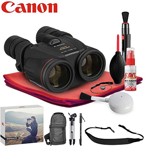 Canon 10x42 L is WP Image Stabilized Binocular - Exclusive Outdoors Binoculars Kit