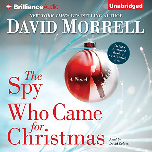 The Spy Who Came for Christmas audiobook cover art