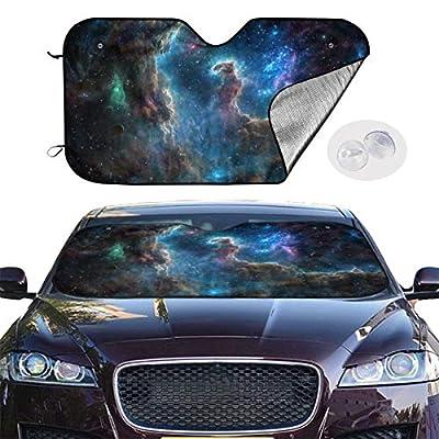 BIAN-61 Car Sun Shades for Windshield Foldable Universe Universal Car Sunshades UV Sun Heat Reflector