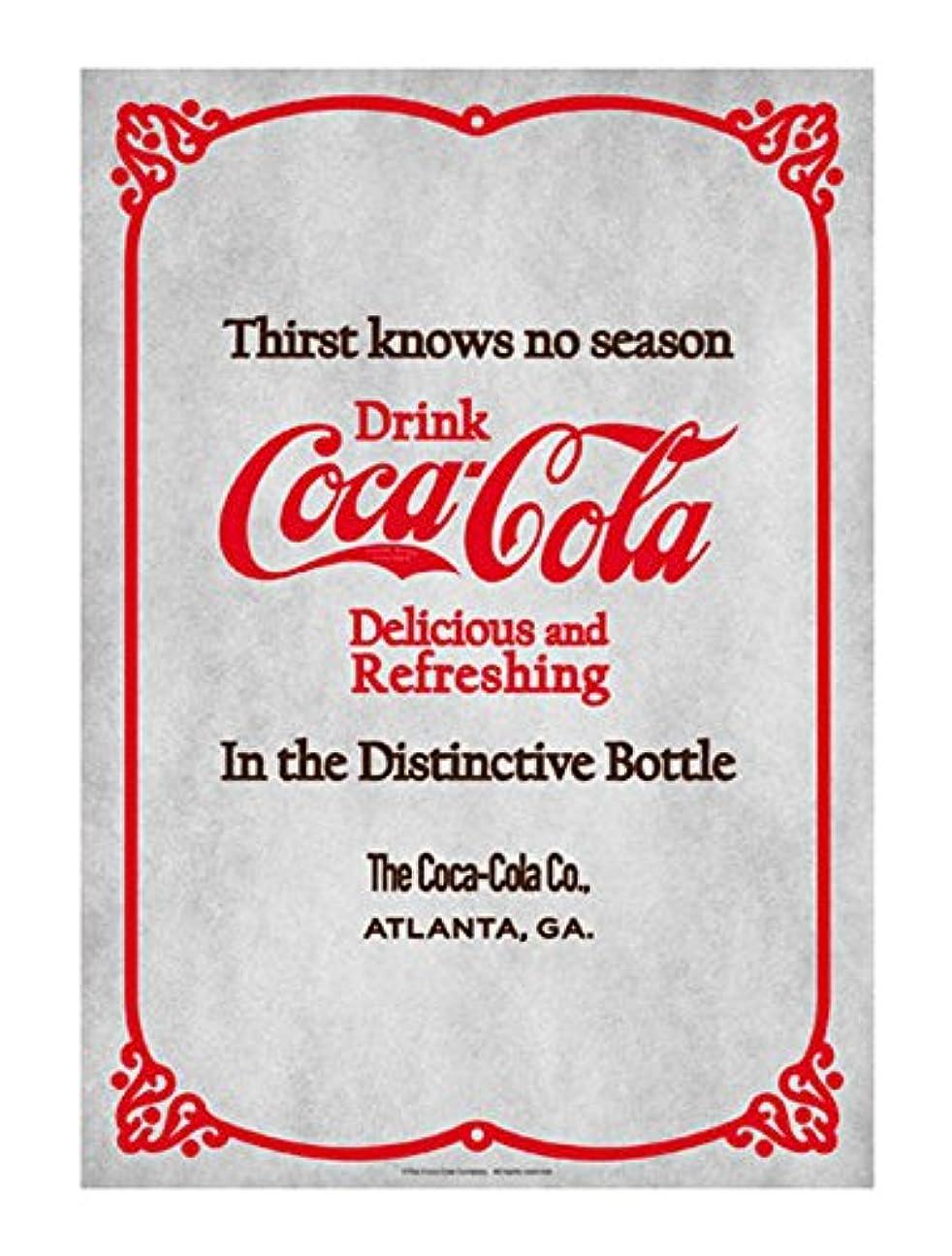 評論家おなかがすいたリースコカコーラ マルチ 72.8×51.5cm Coca-Cola ブランド ポスター B2